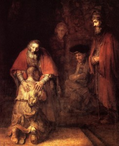 Rembrandt's painting of the Return of the Prodigal